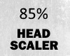 85% head scaller