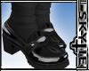 Loafers + Socks Black