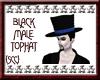 {SCC}Black Male Top Hat