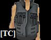 Combat Vest Grey 1