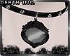 ⚔ Goth Mirror Choker F