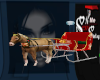Christmas Horse/Carrage
