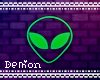 ◇Alien Neon Sign GN