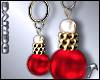 TIA-Xmas Ball Earrings
