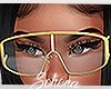 ṩ Puru Glasses Gold