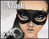 *82 Black Bat Mask