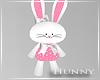 H. Bunny Plush Toy