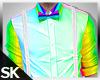 SK| Rainbow Neon Top