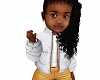 kids white winter jacket