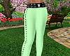 Green Skinny Pants RLS