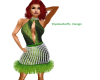 green party dress 3