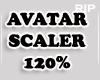 R. AVATAR SCALER 120% MF