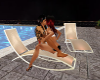 real kiss pool chair