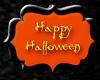 V 3D HappyHalloween Sign