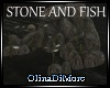 (OD) stone and fish
