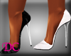 (DC)Black and White Pump