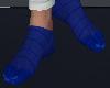$D - Nylon Blue Socks