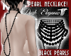 BLACK PEARL NECKLACE!