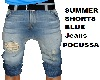 SUMMER SHORTS Blue Jeans