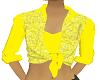 top w vest - yellow
