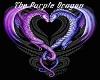 Purple Dragon Backdrop