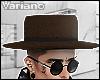 v̶. Brown Hat.