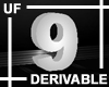 UF Derivable Digit 9