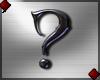 Metal Question mark