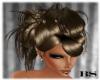 brown mod. wedding hair