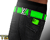 Electric Jeans Green