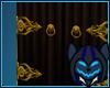 Dragon Hindge Door Gold