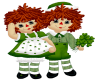 Irish Raggedy Ann& Andy
