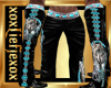 [L] WOLF Black 2 Pants M