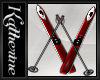 Winter Skiis Rd/Blk/Wolf