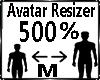 Avatar Scaler 500%