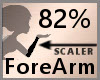 Scale ForeArm 82% F A