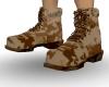 Tan Digital Camo Boots M
