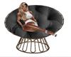 SIM BLACK Cuddle Chair