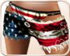 !NC Patriot Shorts Red