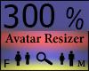 Any Avatar Size,300%