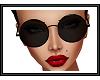 {G} Black Sunglasses