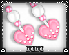 !D! Kid Heart Earrings P