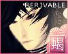 'S|Samurai Head Derivabl