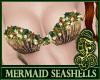 Mermaid Seashells Ocre