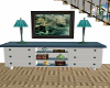Bluegreen Sideboard