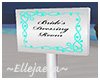 Bride's Room Sign