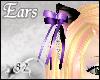 *82 B Cat Ears - Purple