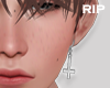 R. UNHoly earrings L