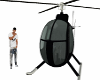 BlacknSilver Helicopter