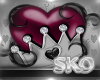 *SK*HEART CROWN SPIN